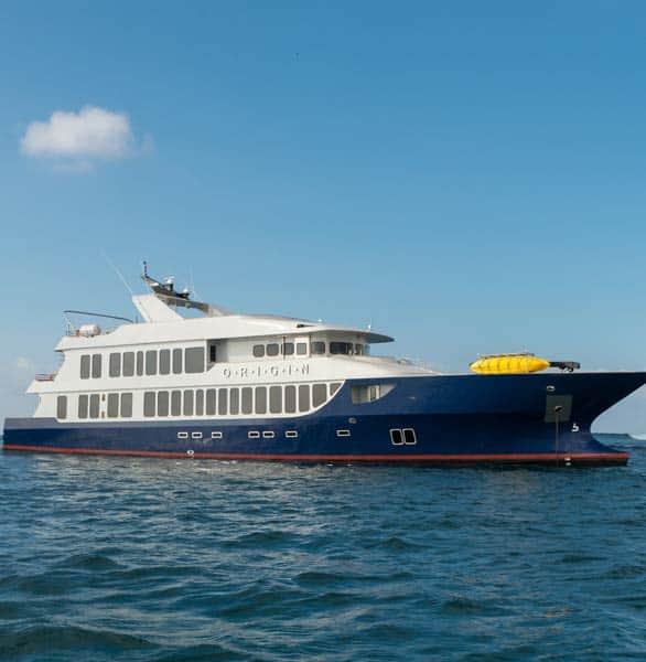Photo of Ecoventura's Origin at sea