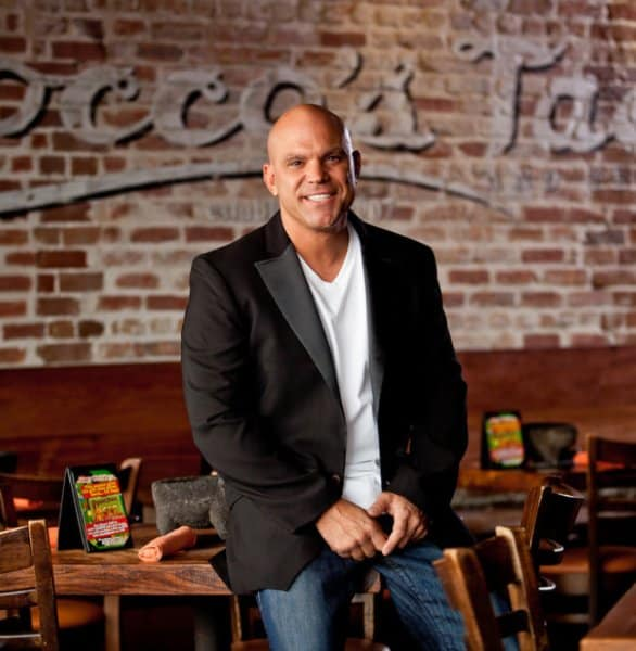 Photo of Rocco's Tacos owner Rocco Mangel