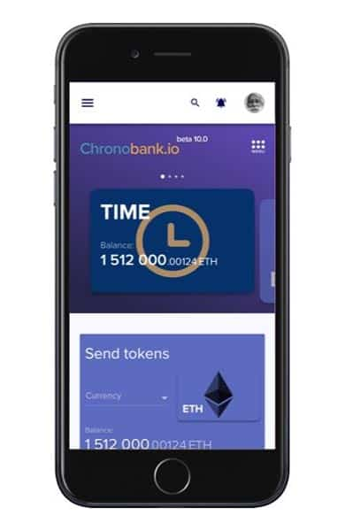 Screenshot of TimeX