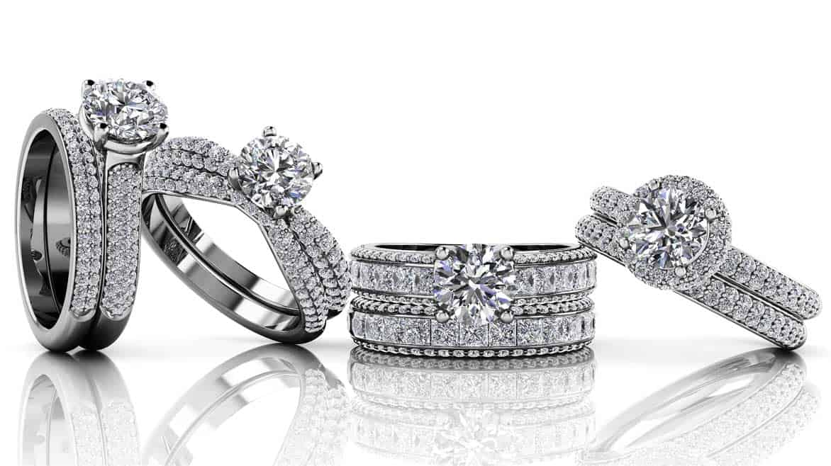 Photo of Anjolee diamond rings