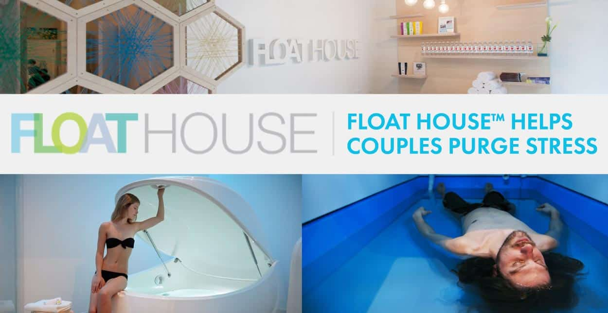 Float House™ Helps Couples in Canada Purge Stress and Reconnect with Themselves in Sensory Deprivation Tanks