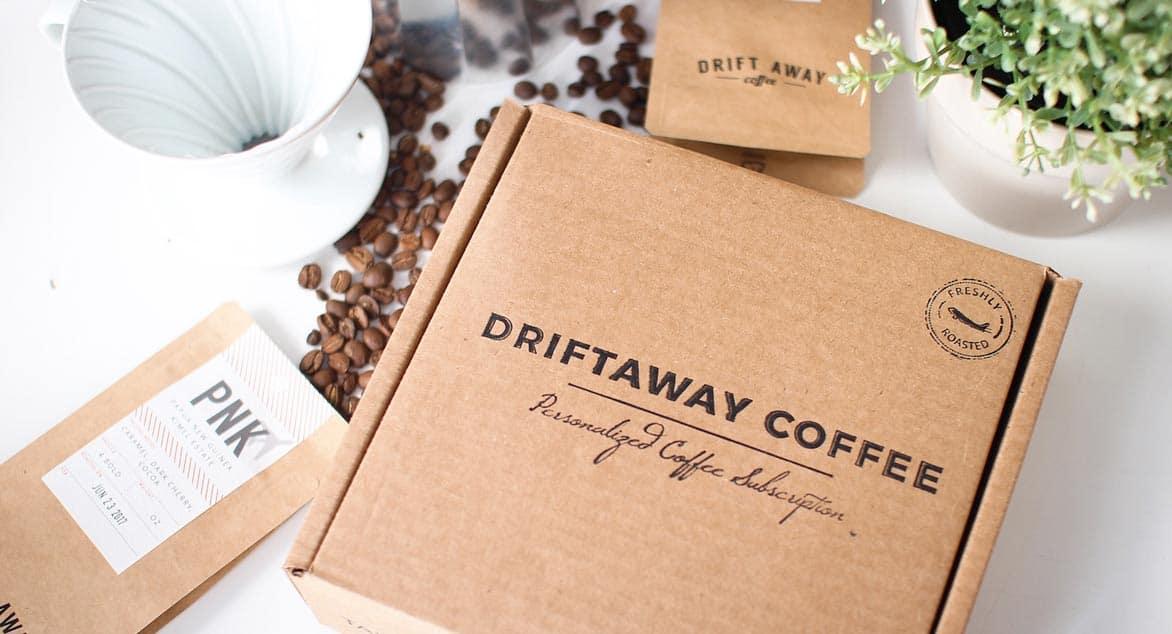 Photo of Driftaway Coffee subscription box