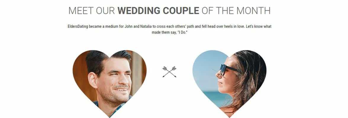 Photos of John and Natalia