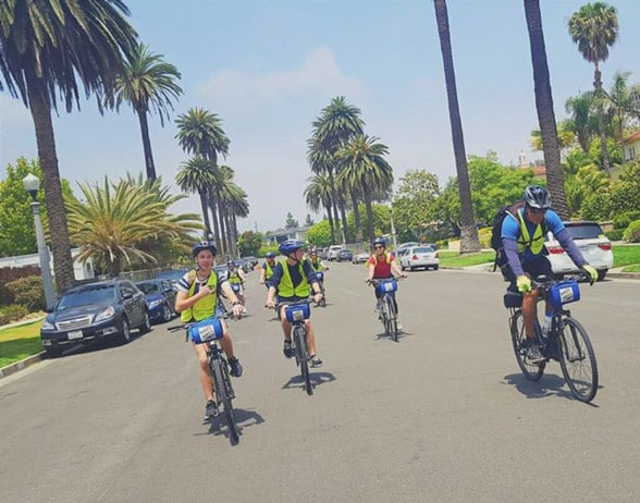 Photo of Bikes And Hikes LA participants