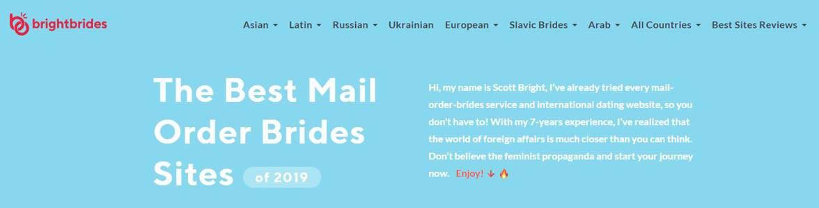 Screenshot of BrightBrides.net