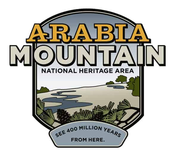 The Arabia Mountain National Heritage Area logo