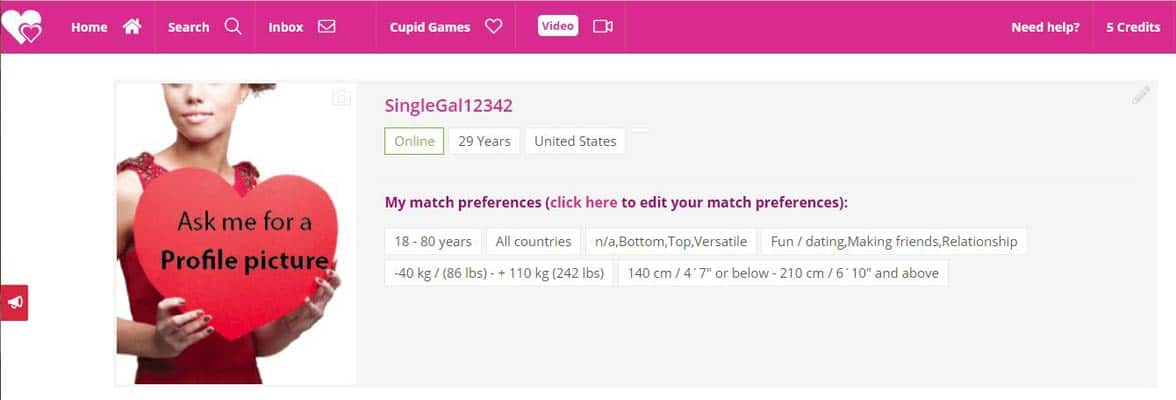 Trans Friendly online dating