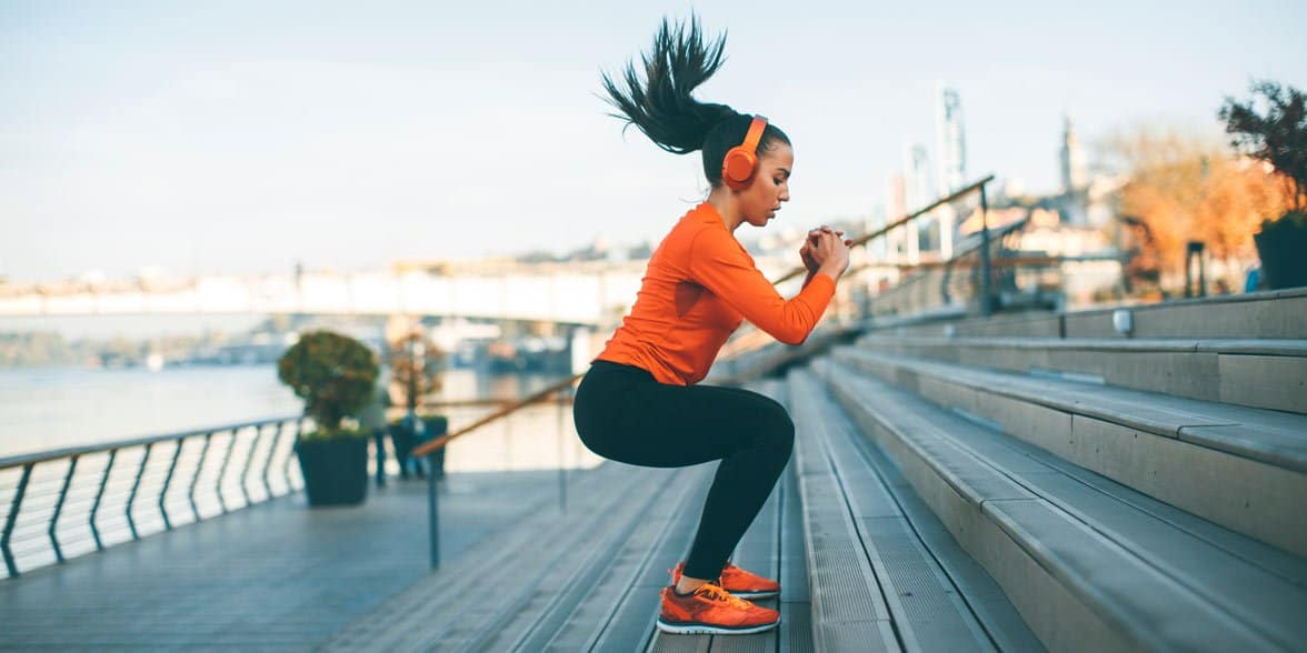 Photo of woman exercising