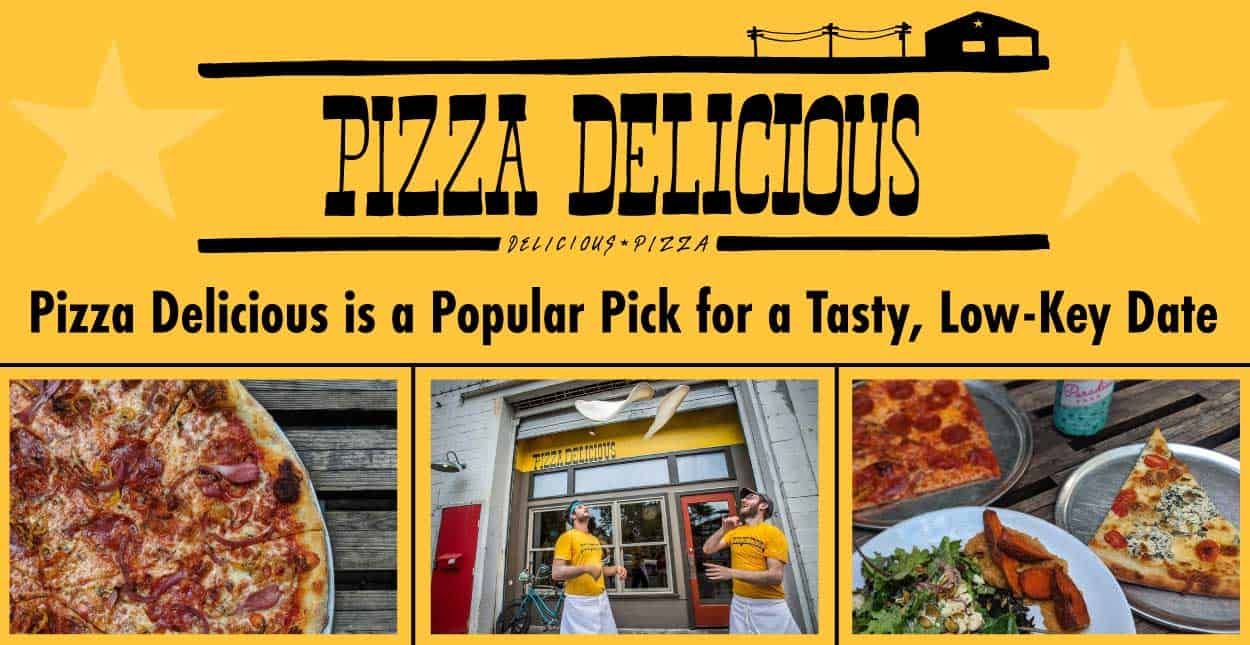Editor's Choice Award: Pizza Delicious in New Orleans is a Popular Pick for a Tasty, Low-Key Date