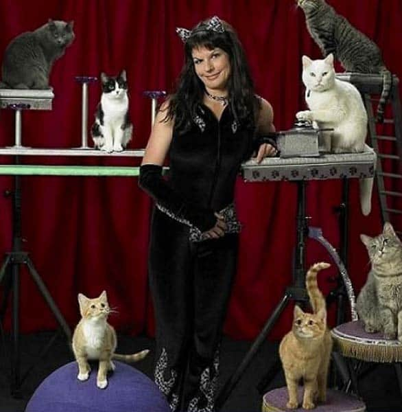 Photo of Samantha Martin and the Acro-Cats