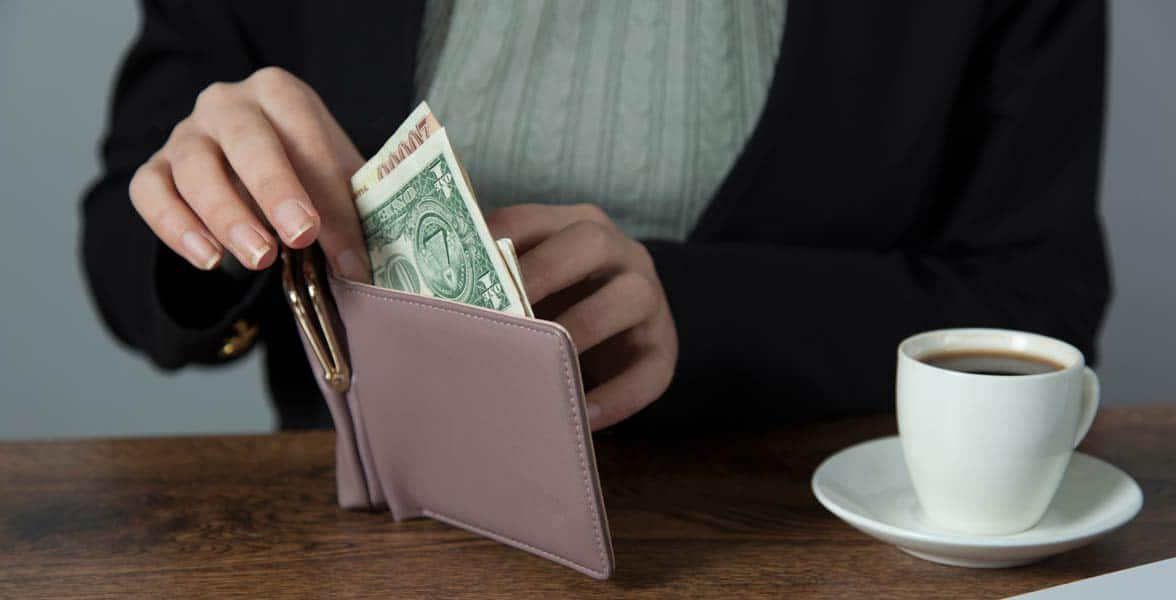 Photo of a wallet