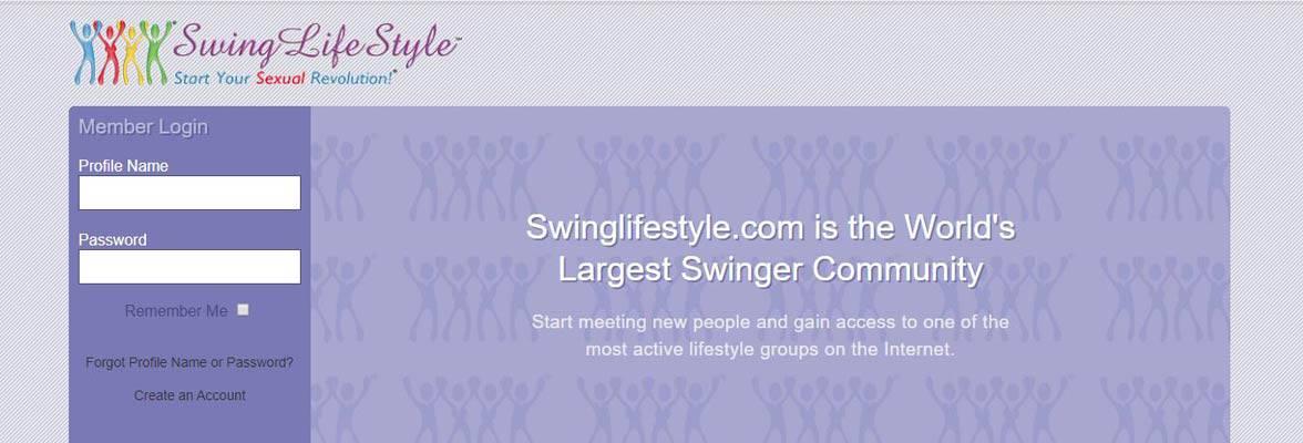 Screenshot of Swing LifeStyle