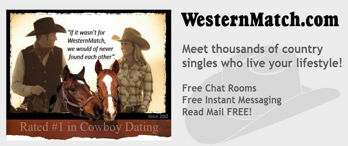 Screenshot of Western Match banner ad