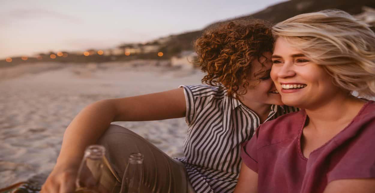Hidden Lesbian Massage